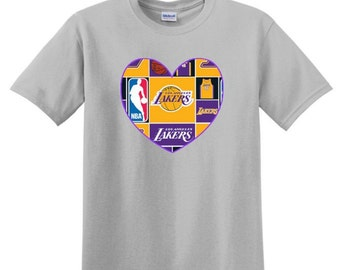 Short Sleeved LA Lakers Shirt, lakers baby, lakers kids, lakers gift, lakers outfit, lakers onesie, Kobe Bryant shirt