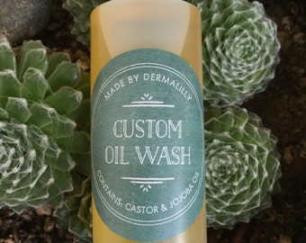 Custom Oil Wash