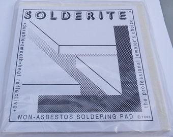 """Solderite Board 6"""" x 6"""" Non-Asbestos Soldering Pad"""