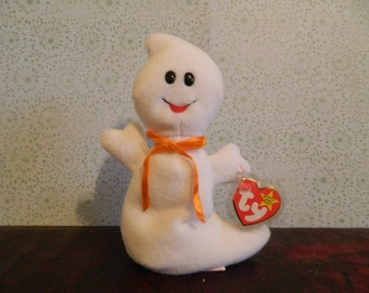 "TY Ghost Beanie Baby ""Ghost"" (J)"
