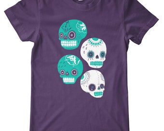 Sugar Skulls American Apparel T-Shirt