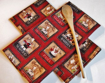 Fat Chef Kitchen Linens