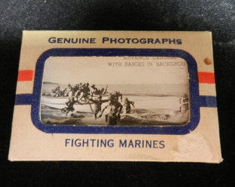 Original WW2 World War Two Genuine Photographs Fighting Marines
