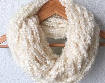 Fall/Winter Scarf, Arm Knit Scarf, Inifinity Scarf