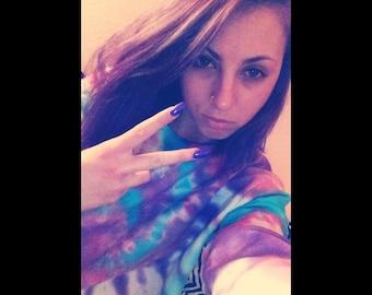 Cotton Candy Tye Dye Sweatshirt