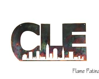 Cleveland, CLE skyline