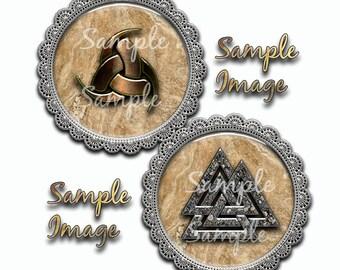 Viking Symbols 4x6 Collage sheet Download