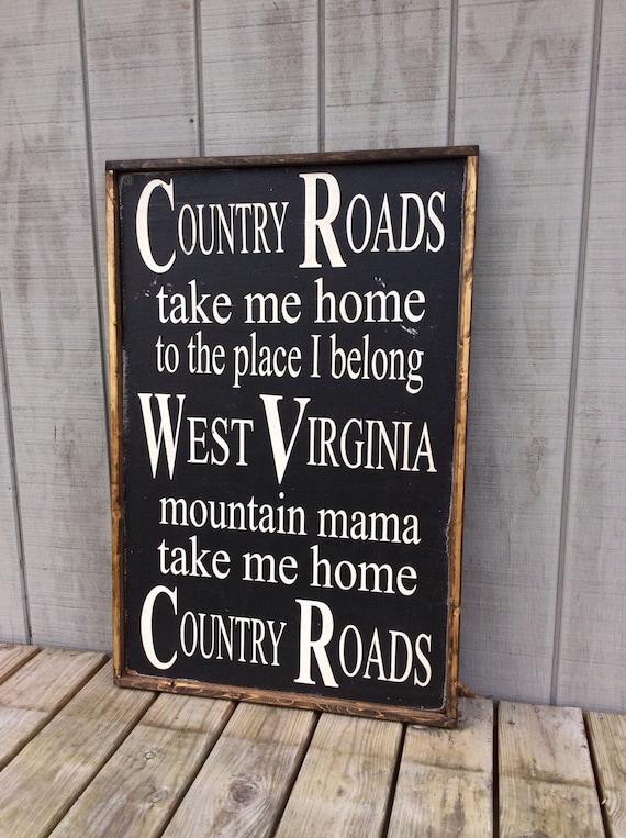 West virginia song lyrics