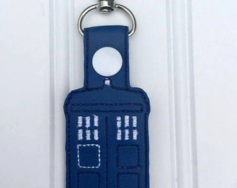 Dr Who - Tardis inspired keychain