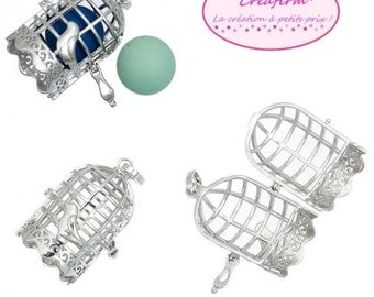 2 cages for Pearl or bola 16mm shape Bird Cage