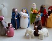 Nativity, wise men, sheph...