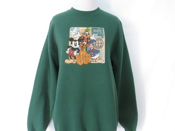 vintage disney sweatshirt 90 s mickey mouse sweatshirt