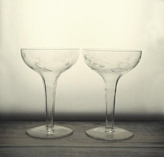 Hollow stem champagne glasses vintage champagne coupe glass - Champagne flutes hollow stem ...