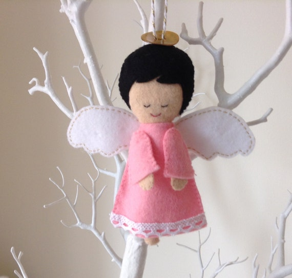 Angel Baby Gifts Uk : Guardian angel ornament unique baby shower gift christening