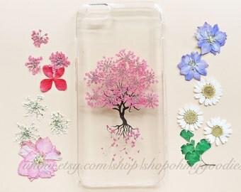 iPhone 7 Plus Case, iPhone 7 Case, iPhone 6s Case, Samsung Galaxy S7 Edge Case, iPhone SE Case Clear, 6 Plus Case, Floral Flower Phone Case