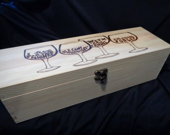 Wine bottle case