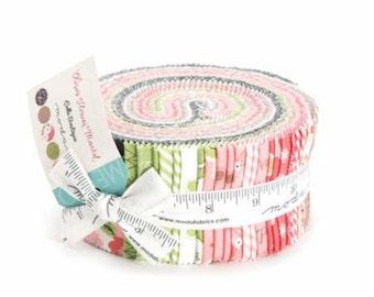 Olive's Flower Market - Jelly Roll - for Moda Fabrics