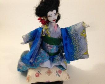 Geisha Art Doll