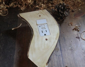 fir root GFI outlet cover