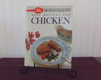 Betty Crocker's Best Recipes for Chicken, Vintage Cookbook, 1989