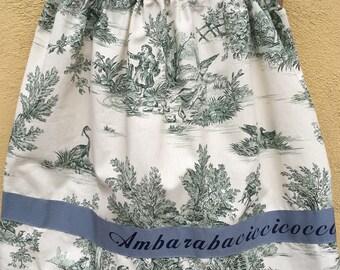Speaking skirt 1