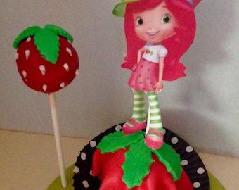 Strawberry Short Cake Cake Pops (12) choice of