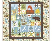 "Utah Quilt Kit by Riley Blake Designs- 56"" x 60"" Finished size"