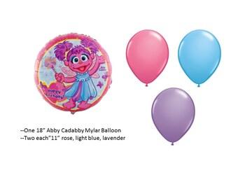 Abby Cadabby Balloons