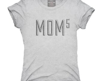 Mom Of 5 Kids To The 5th Power Mothers Day T-Shirt, Hoodie, Tank Top, Gifts