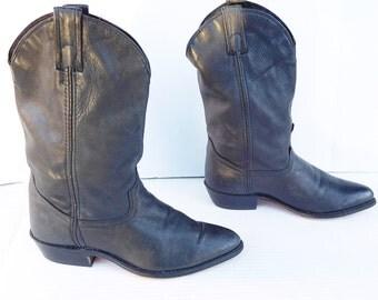 Code West black western cowboy boots size 6.5