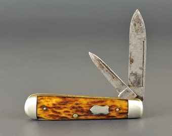 Vintage Pocket Knife Utica Cutlery NY
