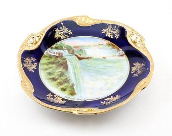 Vintage Niagara Falls Prospect Point Souvenier Plate