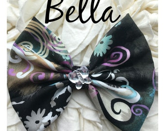 Bella butterfly Bow Band Homemade
