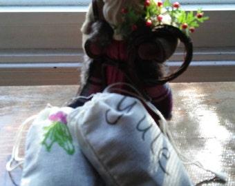Balsam-Bayberry Yule Sachets