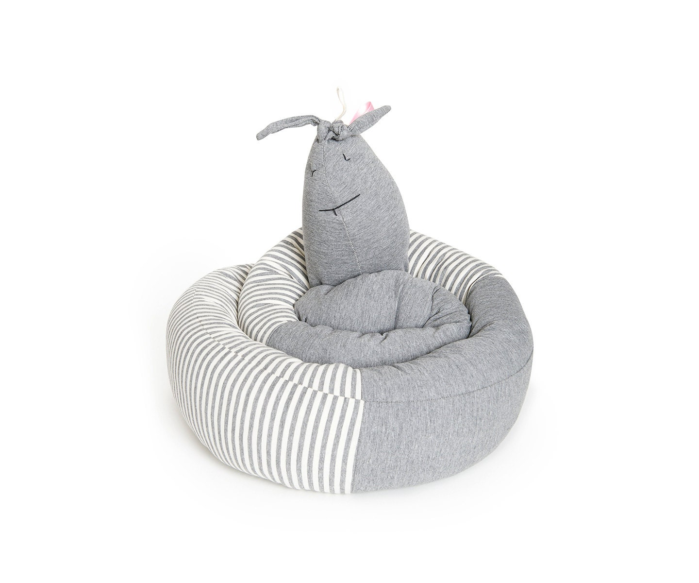 Crib pillows babies - Snaily Bailey Spiral Pillow For Baby Crib Grey Crib Bumper For Bassinet And Baby Crib