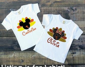 Thanksgiving Turkey Shirt, Turkey Shirt, Thanksgiving, Thanksgiving Shirt, Disney, Mickey, Minnie, Disney World, Disney Vacation, Disneyland