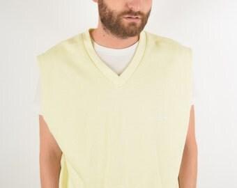 Vintage Adidas Vest Size M-L 80'S (1428)