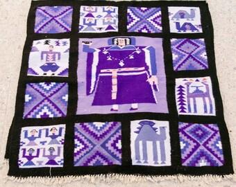Purple rug, rug, carpet, Kilim rug, Moroccan rug, Turkish rug, Persian rug, area rug, Moroccan rug, kilim.
