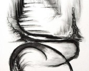 Charcoal XI... original drawing
