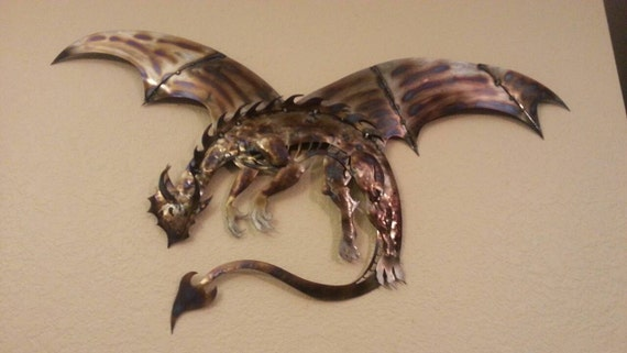 Dragon Metal Dragon Wall Art Art Decor