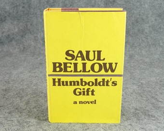 Humboldt's Gift By Saul Bellow C. 1975.