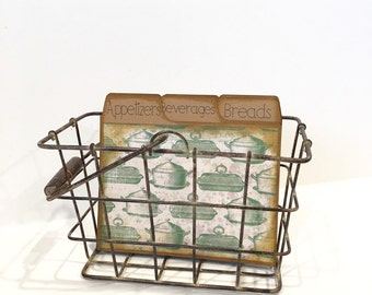Rustic Recipe Box