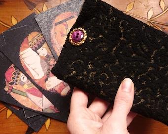 Gulliver Tarot (tarot Black Lace and silk lining)