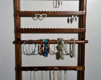 Jewelry Wall Display, Jewelry Wall Organizer, Jewelry Holder Wall, Jewelry Wall Hanger, Earring Display Wall, Necklace Holder Wall