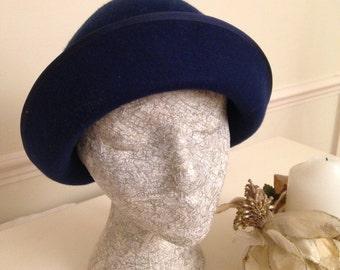 1940'S STYLE FELT HAT