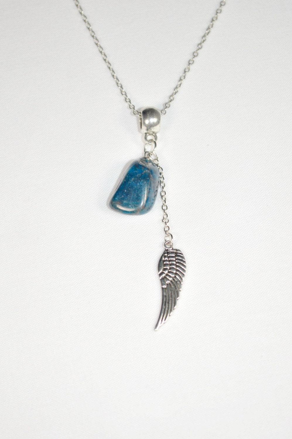 Apatite necklace angel wing necklace guardian angel apatite apatite necklace angel wing necklace guardian angel apatite necklace throat chakra apatite pendant guardian angel pendant necklace mozeypictures Images