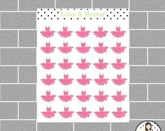Tutu Mini Icon Planner Stickers