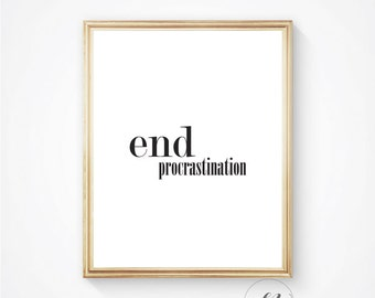 Motivational quote, Inspirational quote,Typography print, Office print, Dorm decor, inspirational art, digital print, quote