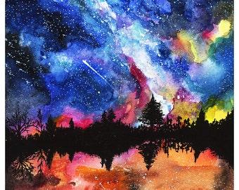 Magical Landscape Print