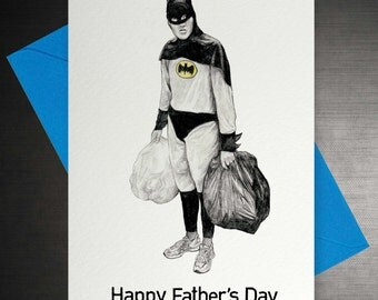 Batman- Funny Father's Day Card